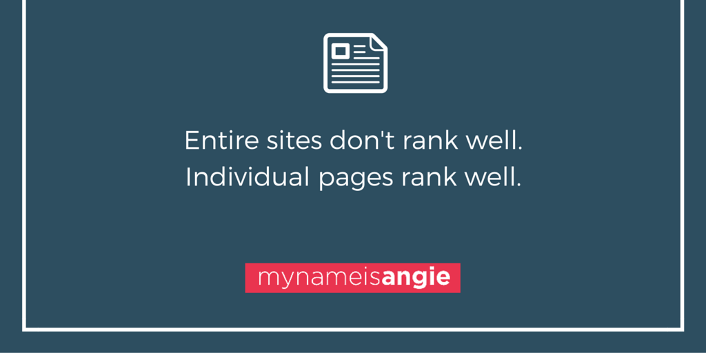 Optimized Pages Increase Website Rankings